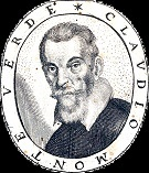 Copperengraving: Claudio Monteverdi.