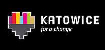 "Logo ""KATOWICE. For a change."""