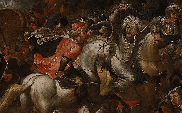 Wikimedia: Painting: Battle of Vienna.